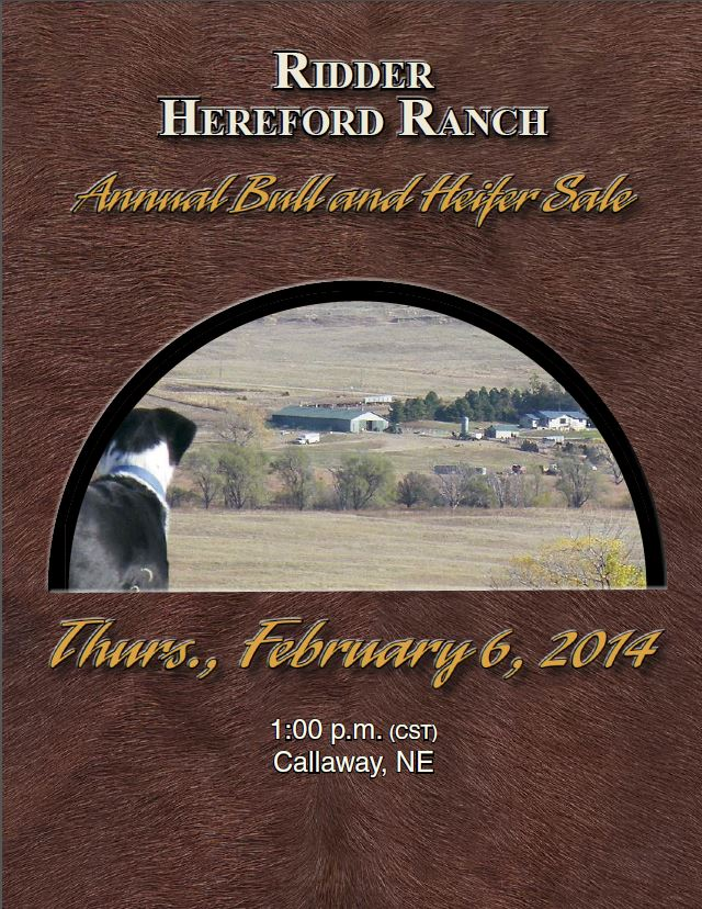 2014 Annual Bull and Heifer Sale
